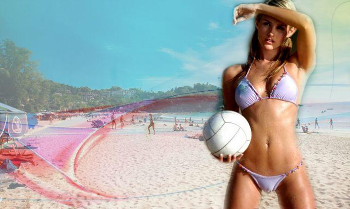 Пляжный волейбол заменит любой фитнес